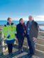 "L-R Michelle Handforth, Nusrat Ghani, Alistair Mackenzie  A MULTI-Million-pound expansion of Aberdeen Harbour has been hailed as ""transformational"" by a government minister. Nusrat Ghani MP, the UK Government Maritime Minister visited the harbour where she toured the existing North Harbour. She also heard about the  £350 million Aberdeen South Harbour project which is currently being built."