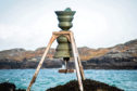Time and Tide Bell currently installed on the Isle of Lewis