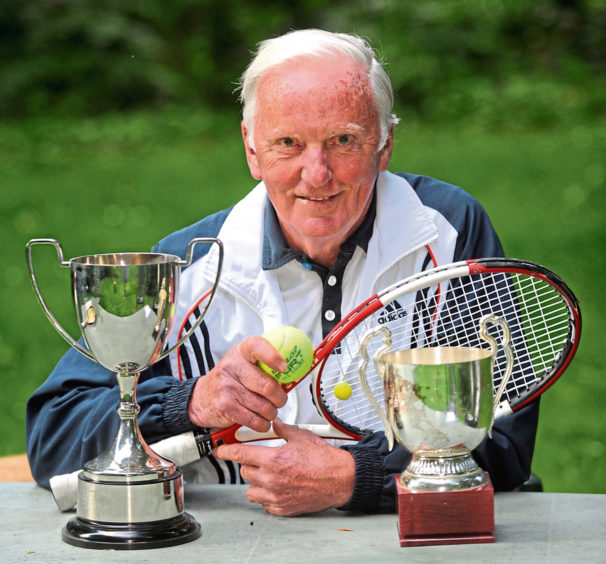 Aberdeen tennis star who triumphed at Wimbledon seven times dies aged 85 - Evening Express