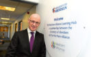 Deputy First Minister John Swinney at the opening of the new learning hub