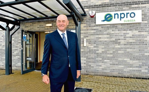 Managing director of Enpro Subsea Ian Donald