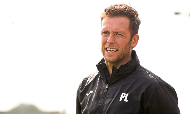 Paul Lawson was happy to see his side progress to the first round of the Scottish Cup