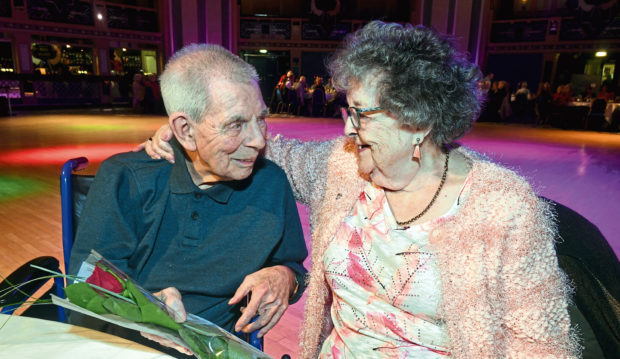 Shelia and David Pratt recreated their first date 68 years on