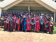 The first graduates from the university's partnership programme with Zomba Theological College celebrate their success.