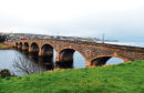 Banff Bridge over the Deveron River connecting Banff and Macduff