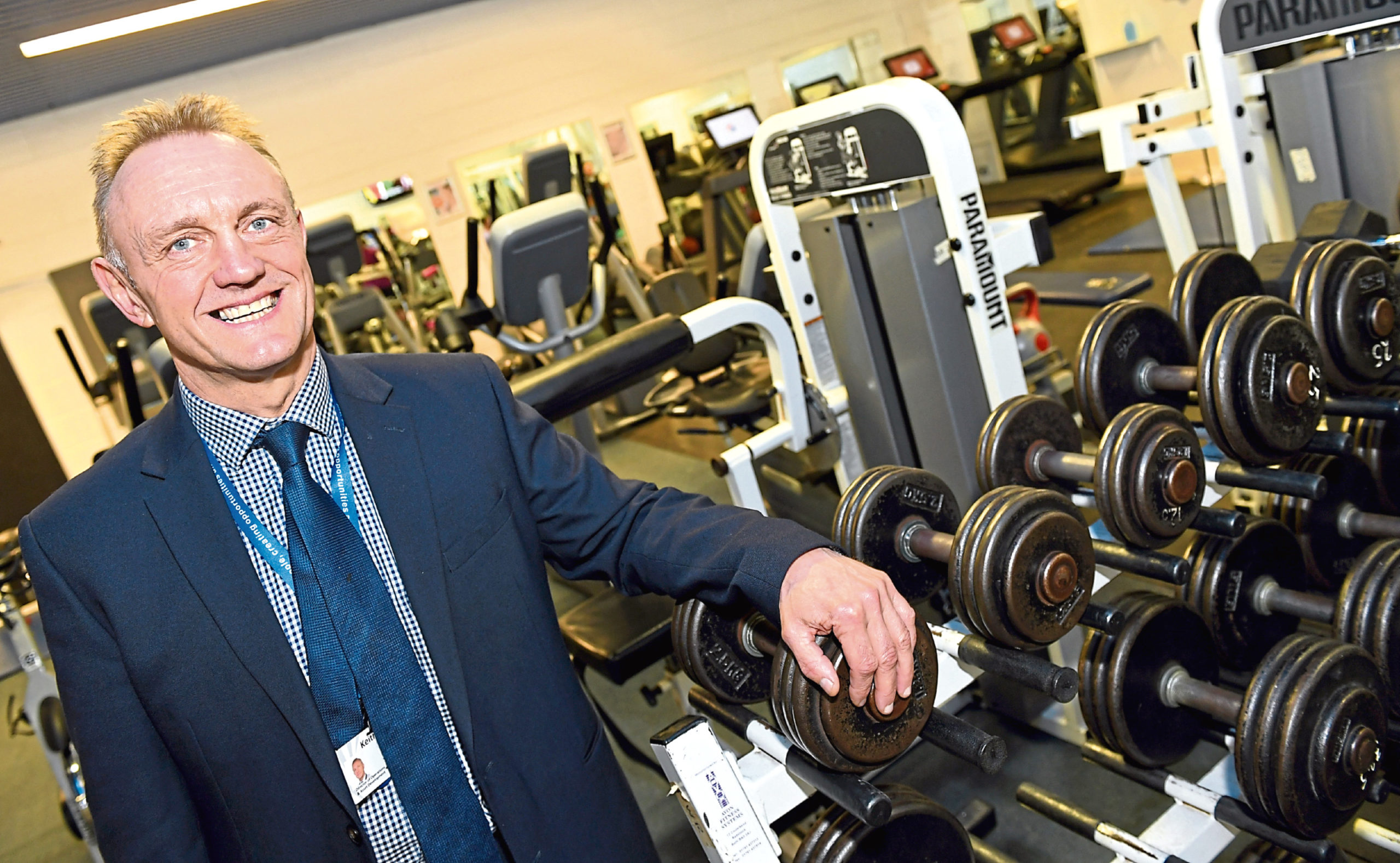 Keith Gerrard, Sport Aberdeen director of healthy and active lifestyles