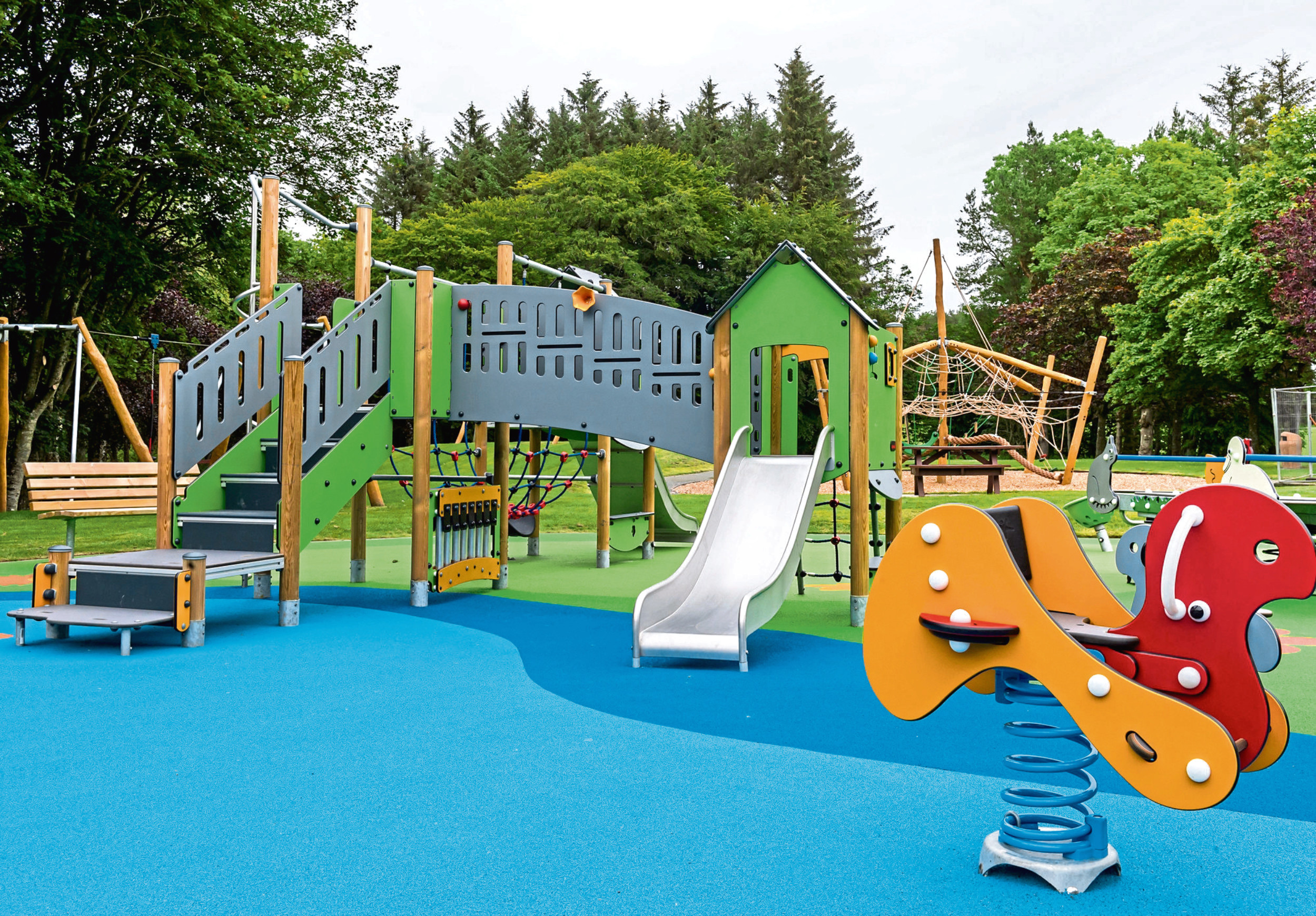 Aden Country Park's play area