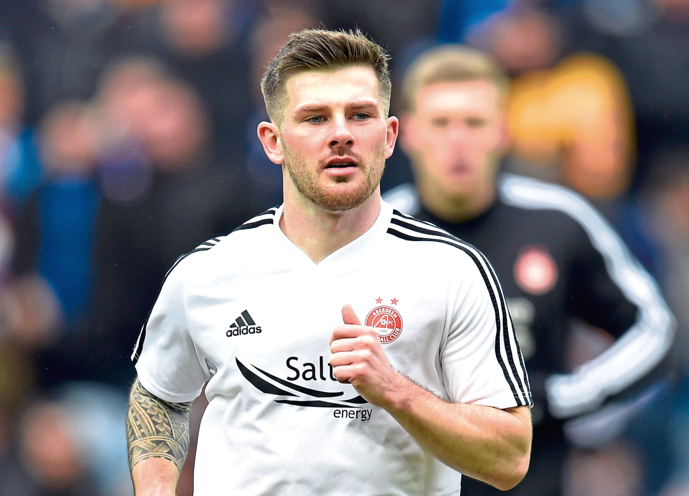 Matty Kennedy is targeting progress in the Europa League against Viking