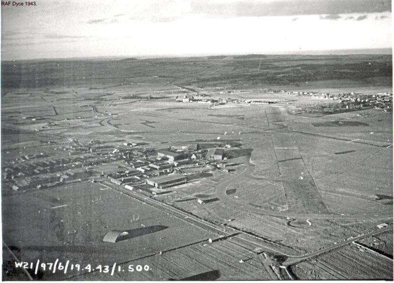 RAF Dyce in 1940