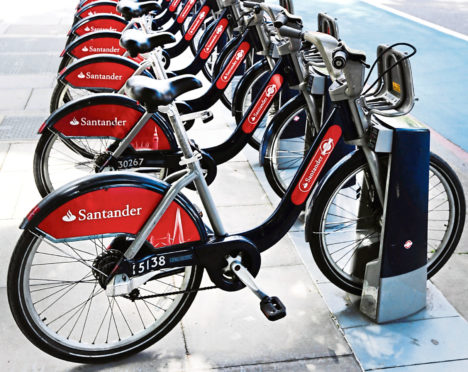 The wheel deal - grand vision of environmentally-friendly cycle hire project has yet to take off