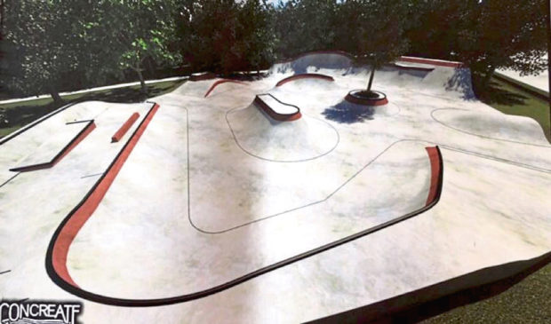 How the new skatepark could look in Aboyne now that planning permission has been granted