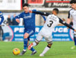 Ryan Conroy in action for Peterhead.
