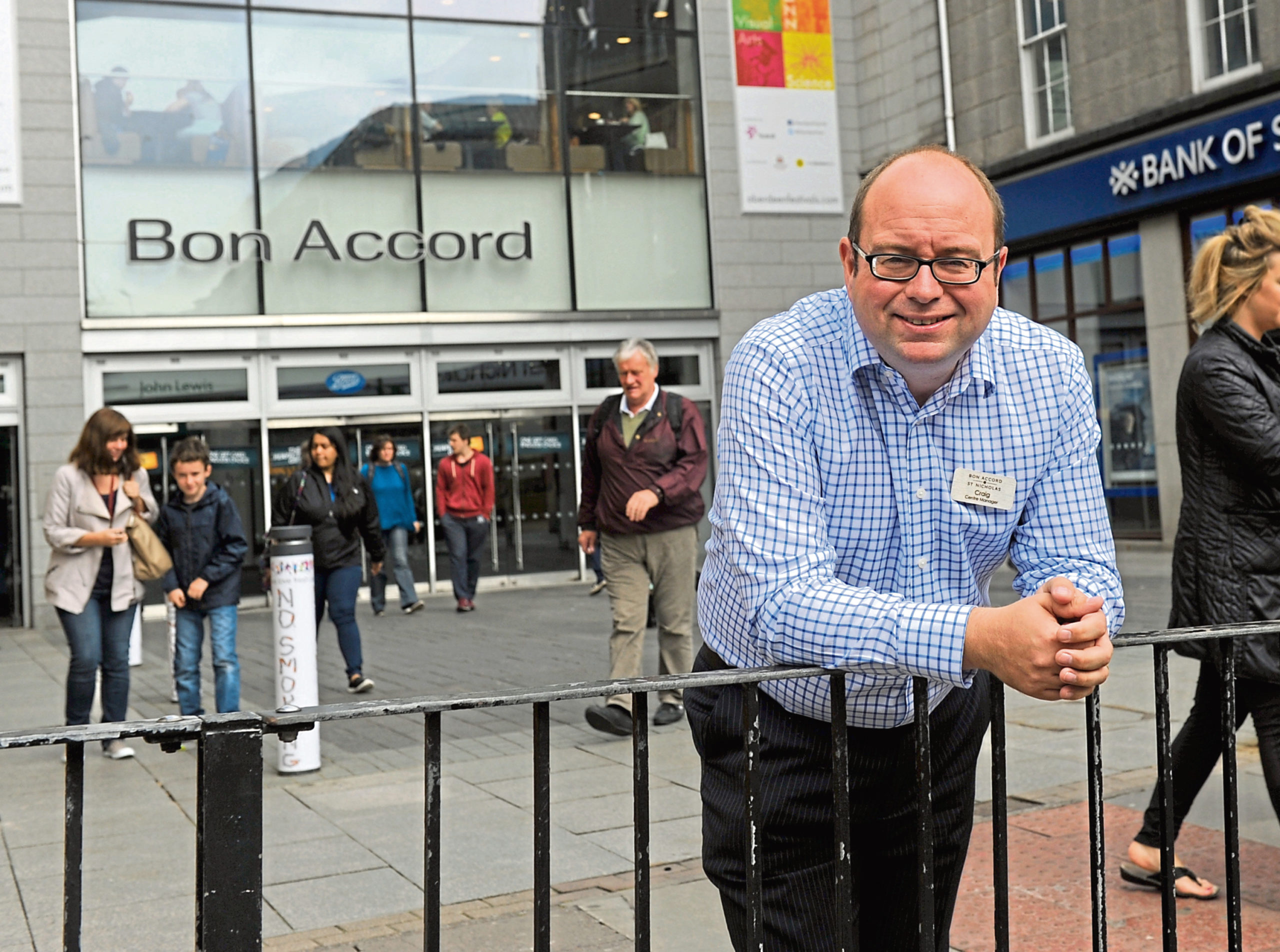 Bon Accord centre manager Craig Stevenson