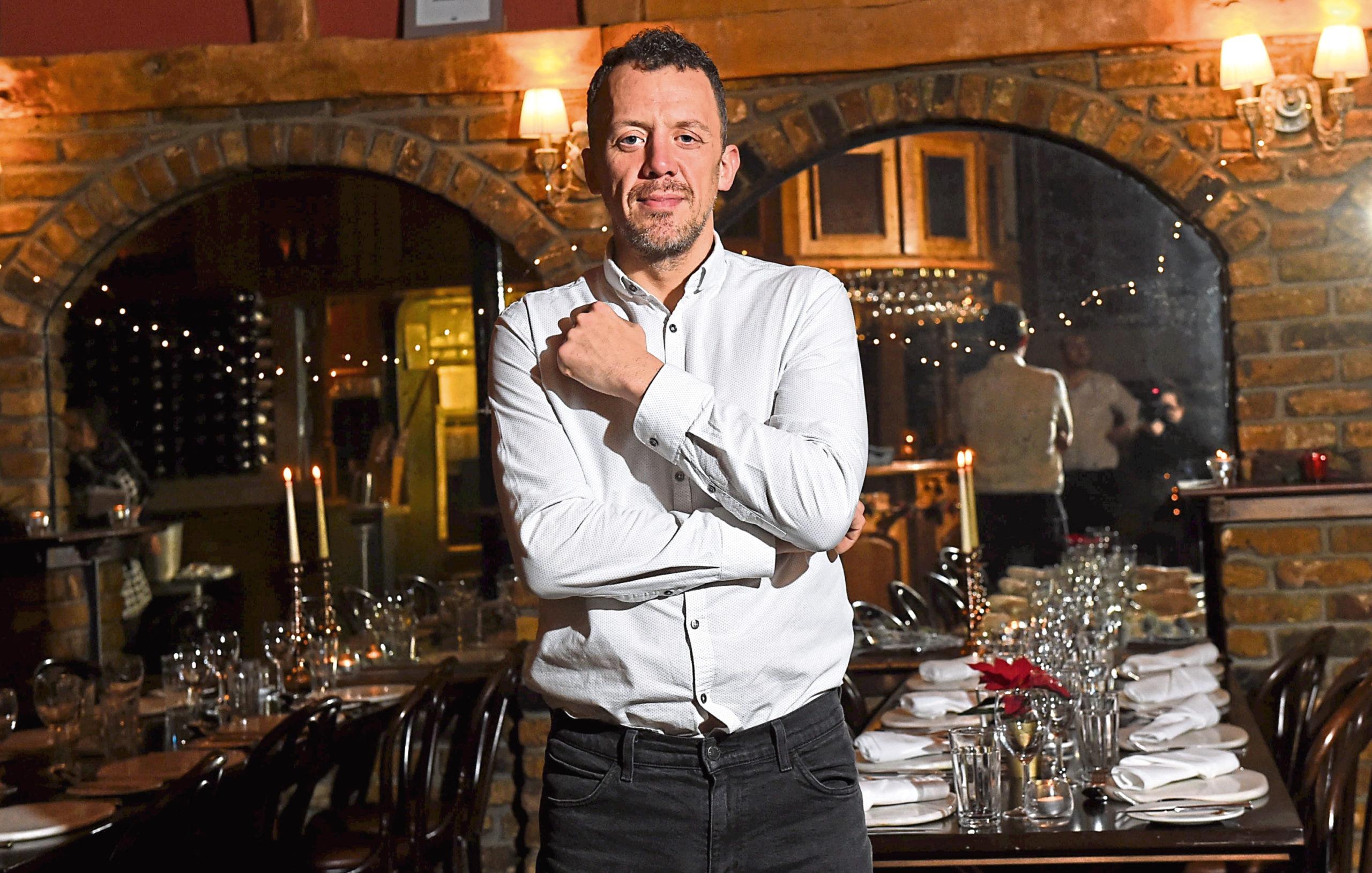 Cafe Boheme owner Paul Mair