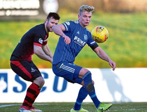 Peterhead defender Jason Brown