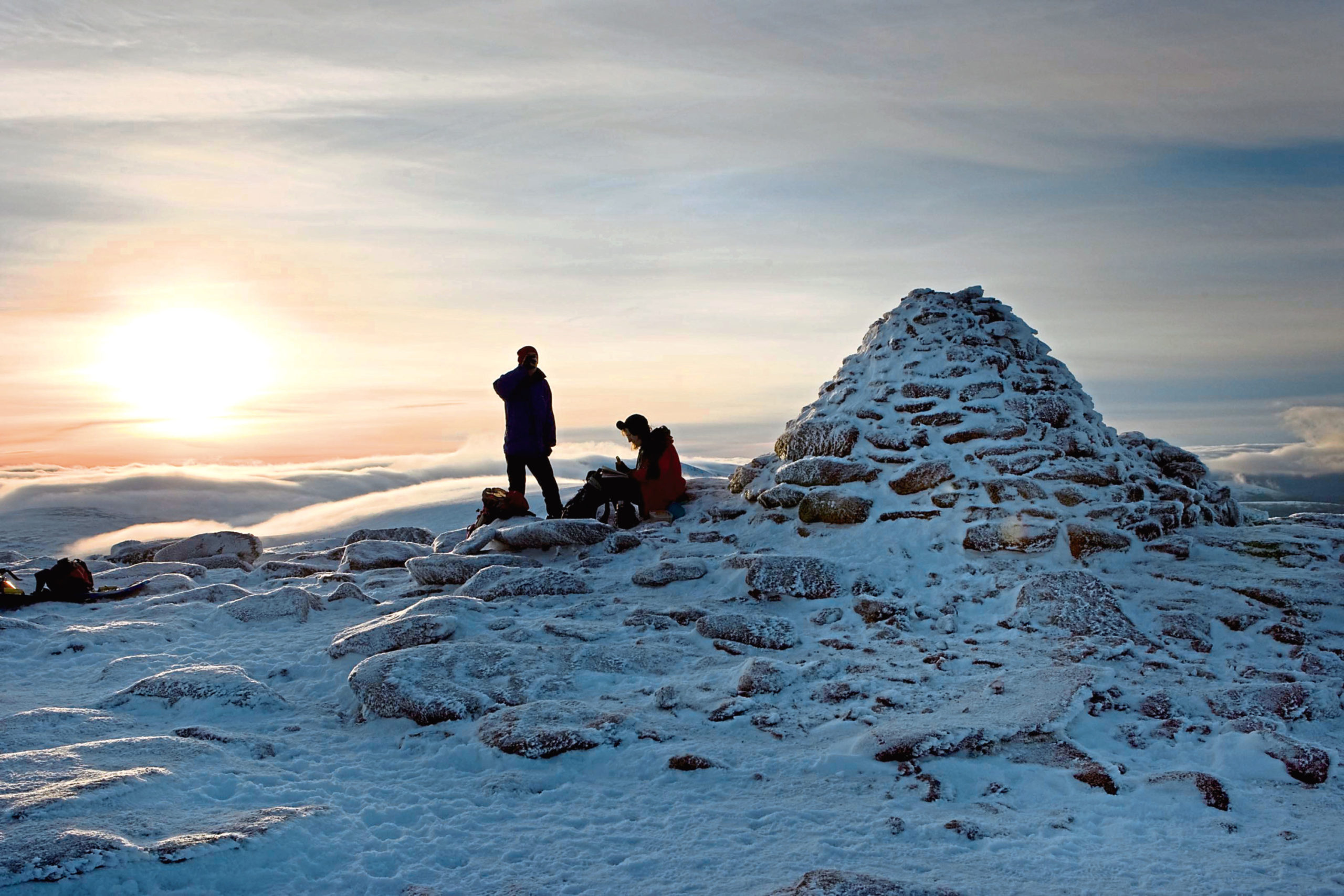 Cairngorm bosses are urging people to stay at home