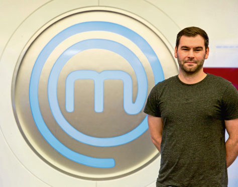 Euan Walker appeared on MasterChef last night