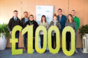 NSPCC Scotland has received £1,000