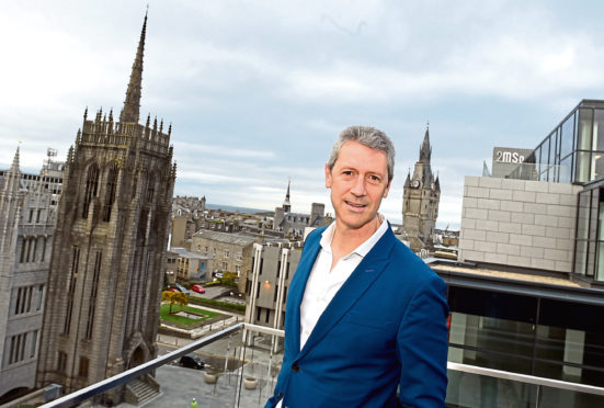 Chris Foy, chief executive of Visit Aberdeenshire