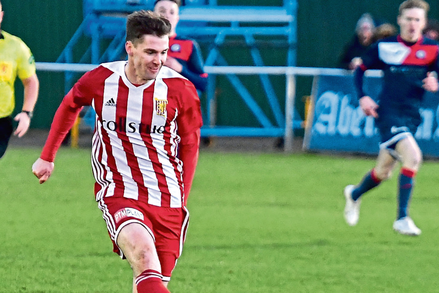 Formartine's Graeme Rodger.  Picture by Chris Sumner