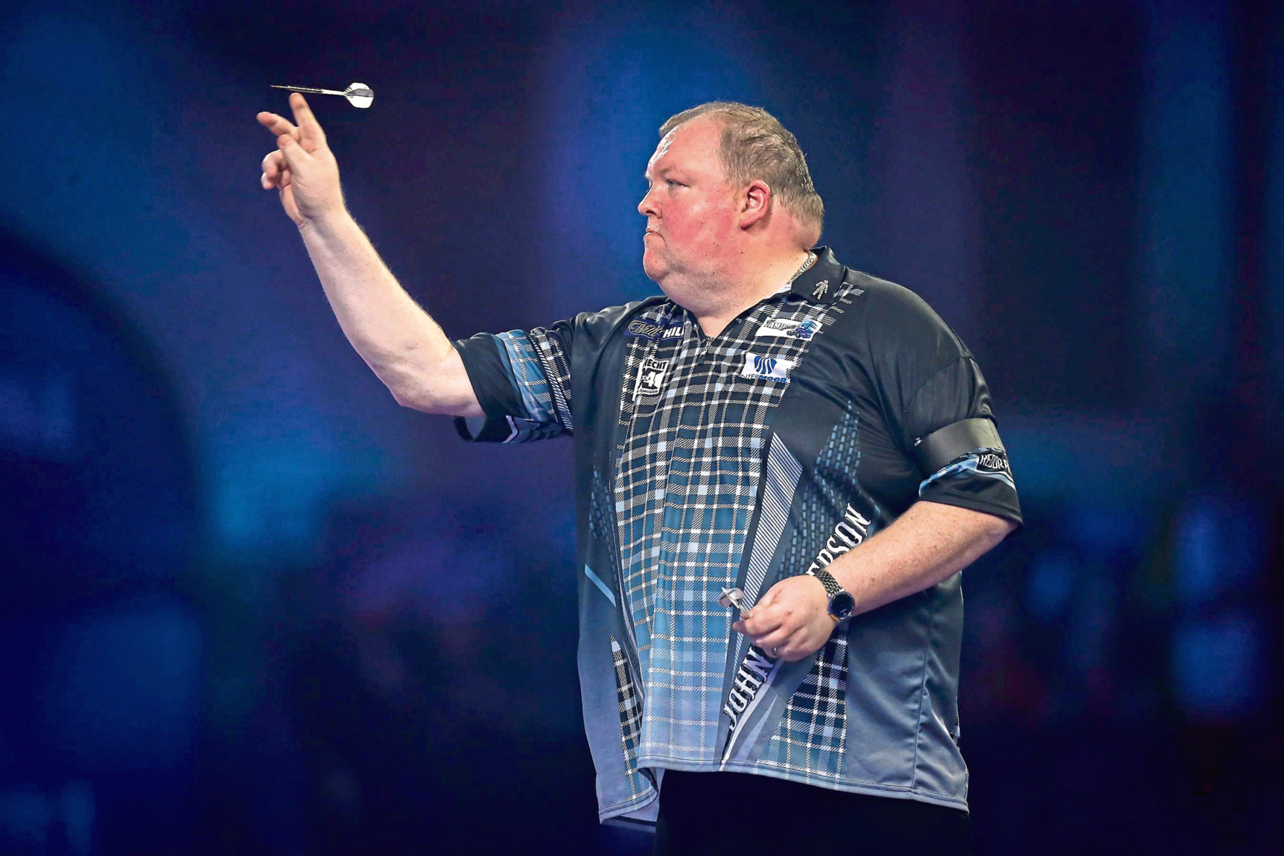 John Henderson has played in the PDC World Championship eight times, but never without fans