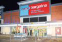 Home Bargains on Oldmeldum Road