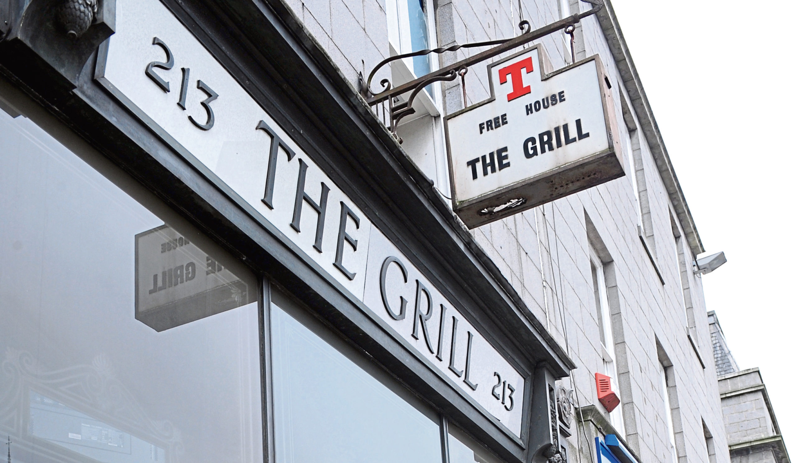 The Grill pub on Union Street's exterior will undergo a refurbishment