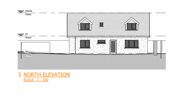 Plans for a new dwellinghouse at the rear of 81 Brighton Place