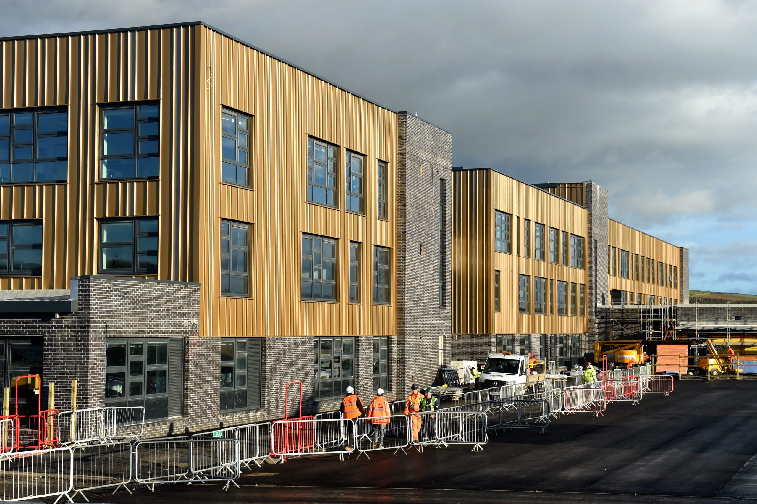 The new Inverurie Community Campus was due to open in time for next school term