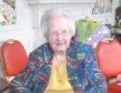 Birthday girl Jean Butchart