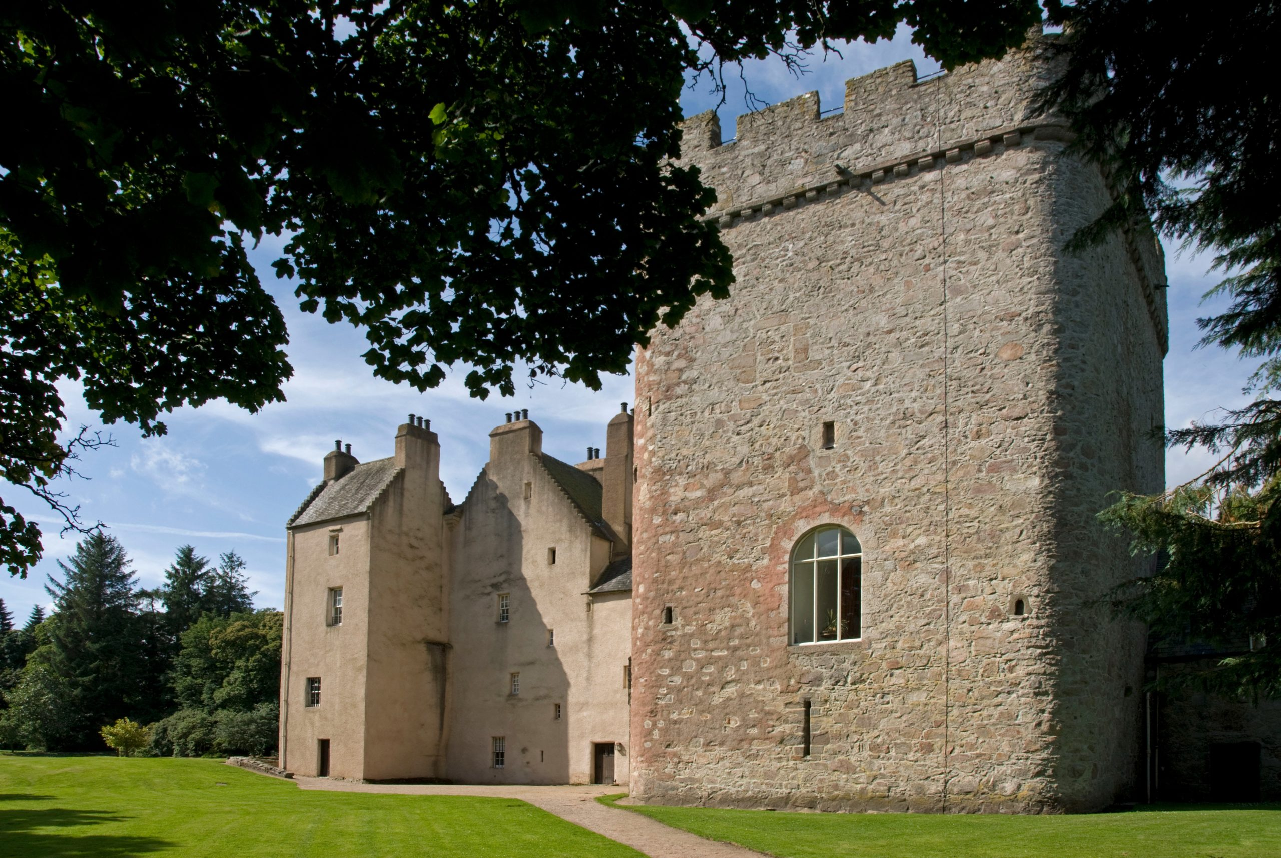 Drum Castle will reopen in the coming weeks, the National Trust for Scotland has confirmed