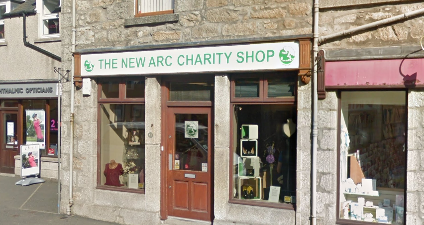 The New Arc Shop in Ellon