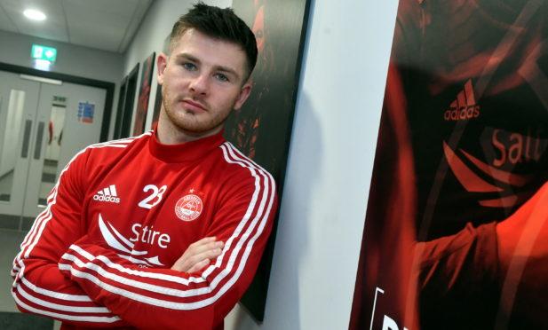 Aberdeen winger Matty Kennedy. Picture by Chris Sumner