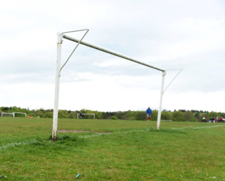 The match took place at Hazlehead.