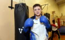 John Docherty at Byron Boxing Club.