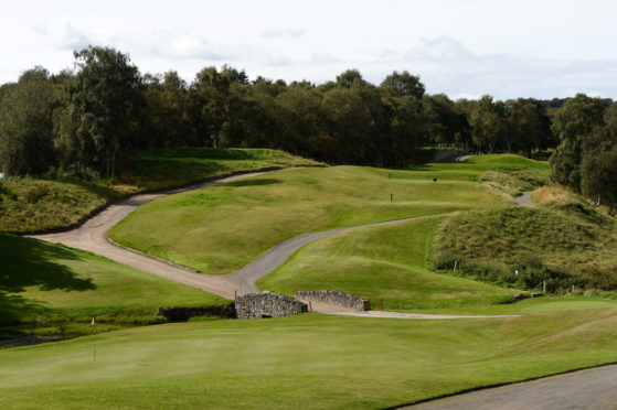 Newmachar Golf Club's future was under threat after a driving range refurbishment.