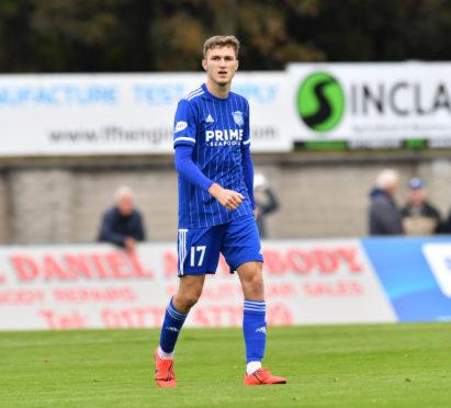 Peterhead defender David Ferguson.