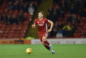 Aberdeen's Ryan Hedges. Picture by Darrell Benns
