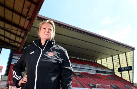 Aberdeen FC Women manager Emma Hunter.