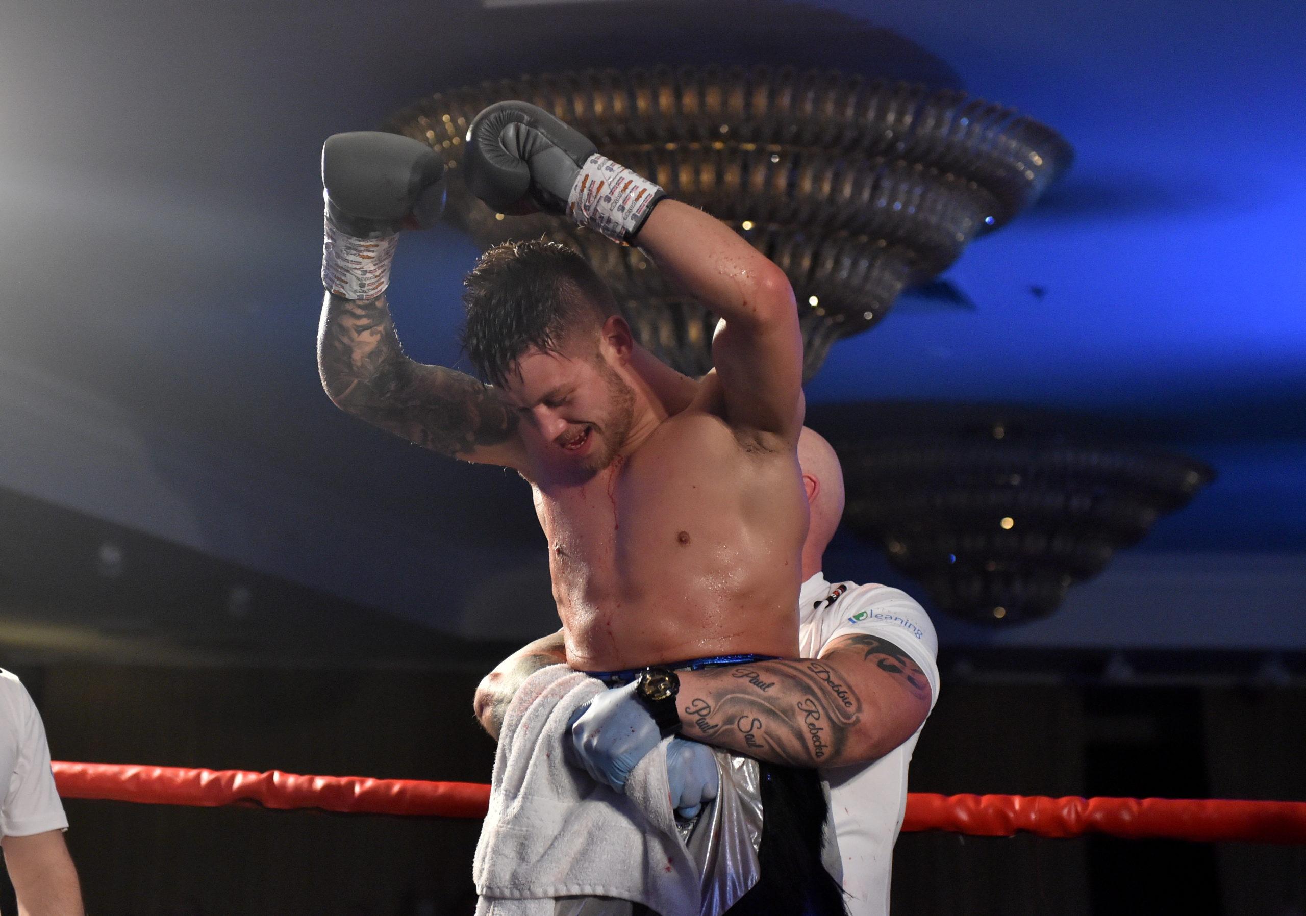 Undefeated Aberdeen boxer Dean Sutherland.