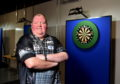 Huntly darts ace John Henderson.