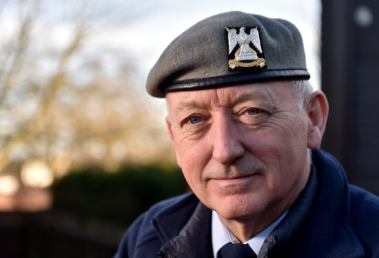 Former soldier Peter Stewart, 60, is up for two veterans awards for his pest control business and contribution to sport through cycling