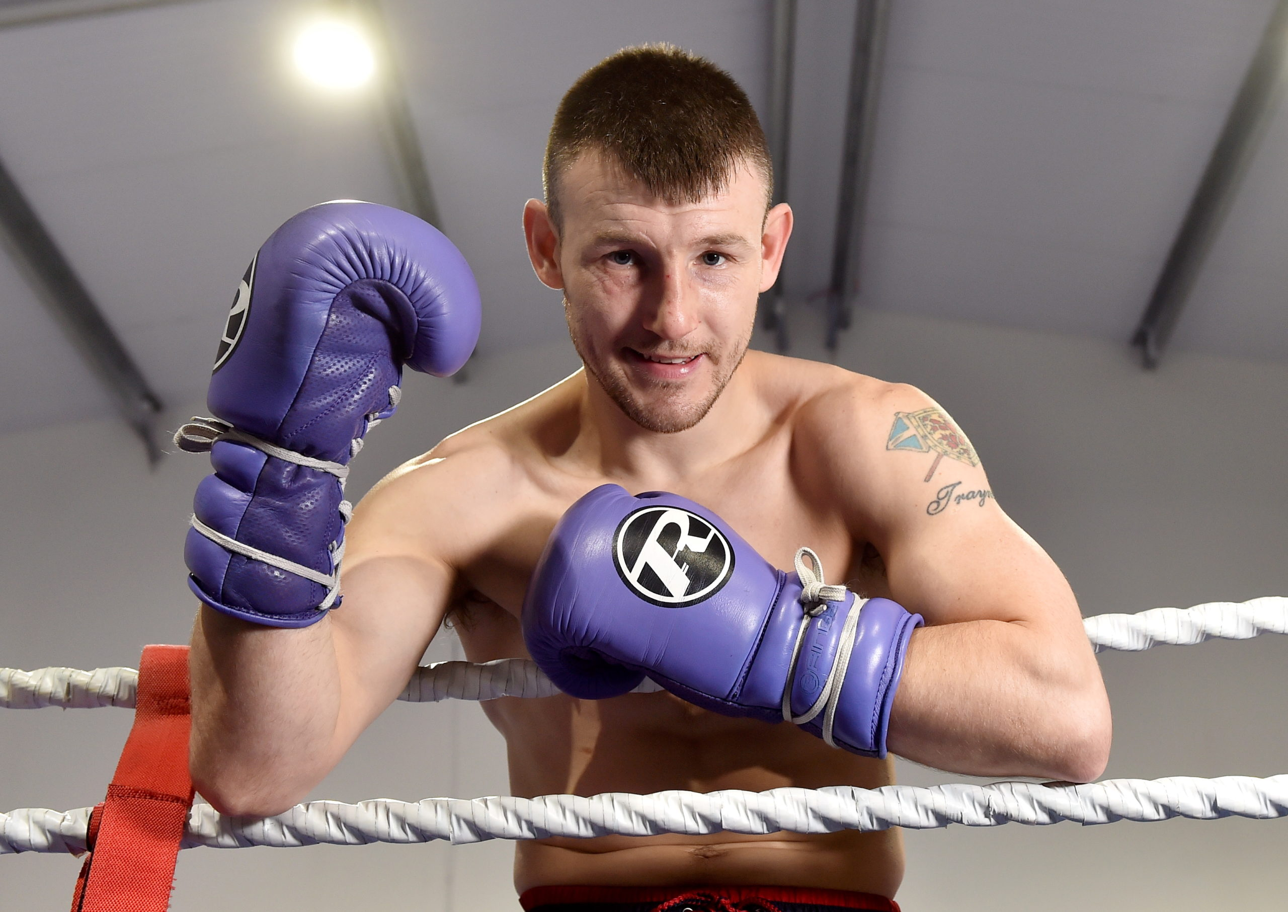 Darren Traynor returns to the ring after more than a year.