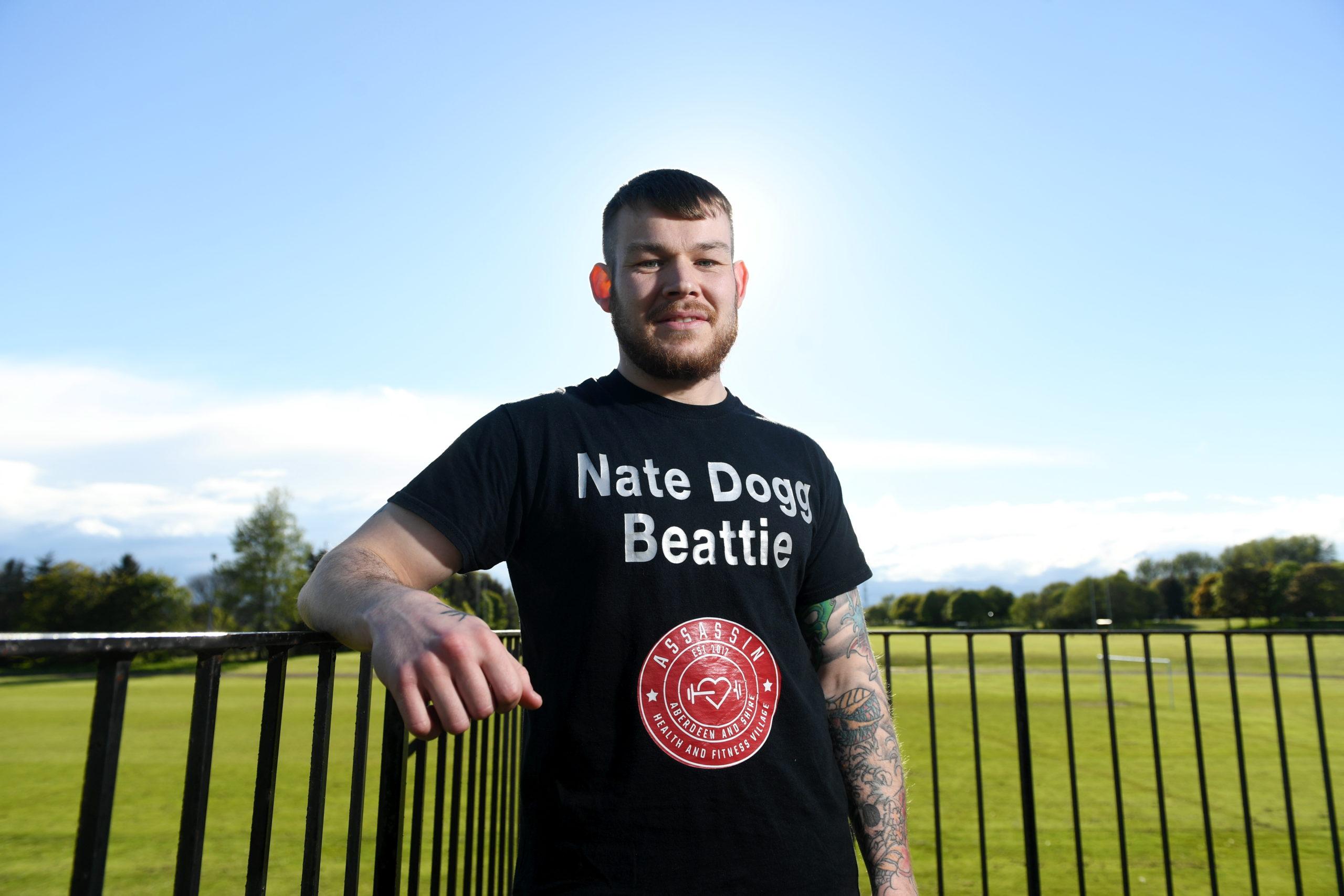 Aberdeen lightweight Nathan Beattie.