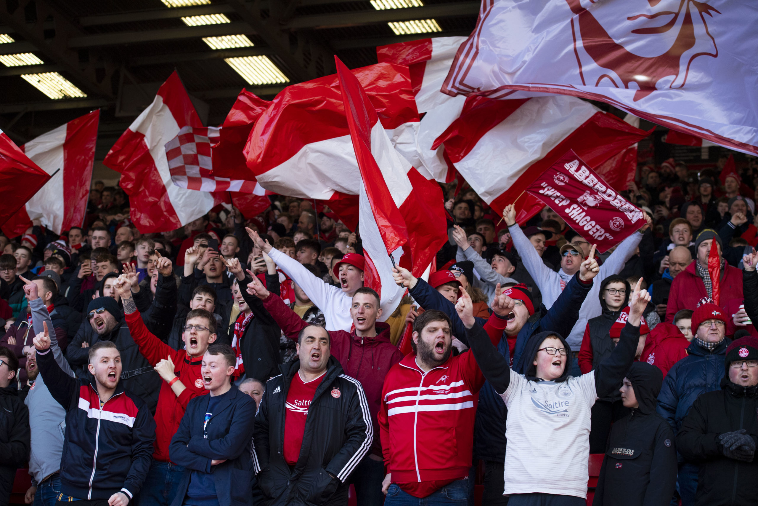 Some Aberdeen fans could be back at Pittodrie in September