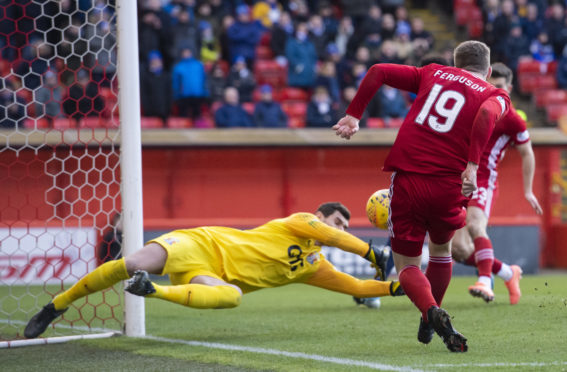 Lewis Ferguson sees a chance go begging in Saturday's Scottish Cup clash with Kilmarnock.