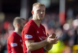 Aberdeen forward Curtis Main.