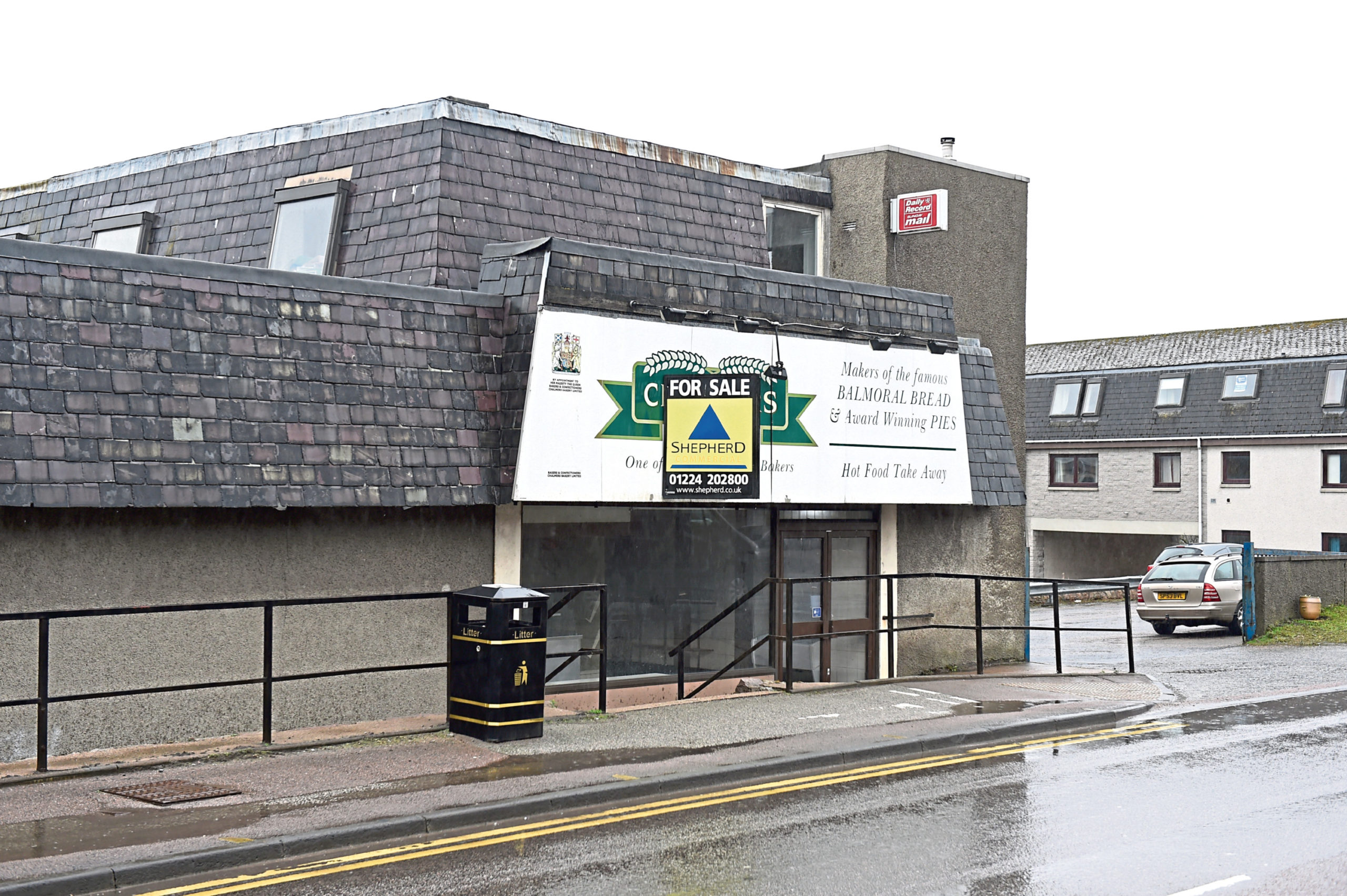 Chalmers Bakery on Auchmill Road could be demolished