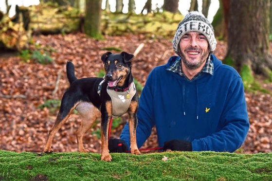 Toby McKillop launched a walking group for men