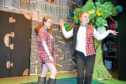 Albyn School pupils Ailsa McCleave and Niamh Hague in As You Like It. Picture by Paul Glendell